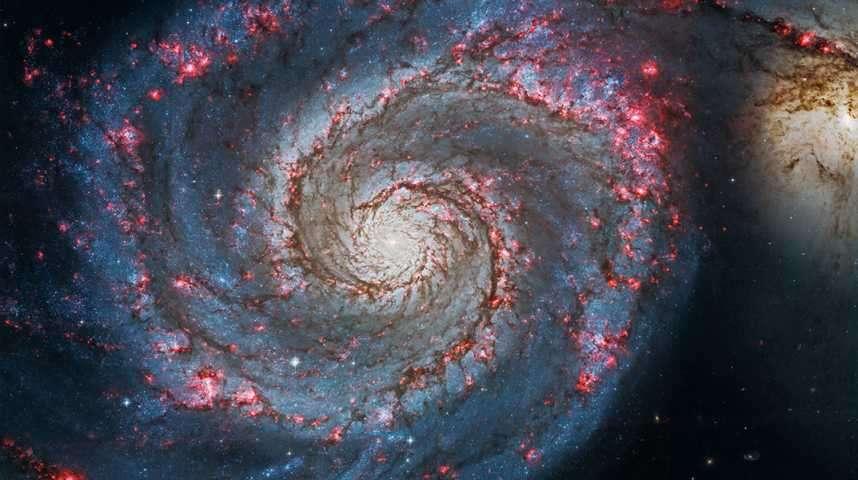 La galaxie du Tourbillon se dévoile sous les yeux de Hubble et Chandra