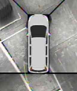 L'AVM (Around View Monitor), facilitant le stationnement des véhicules(Crédits : Nissan)