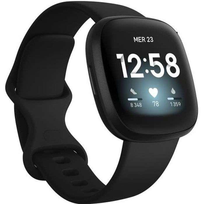 Bon plan : la montre connectée FiBit Versa 3 © Cdiscount