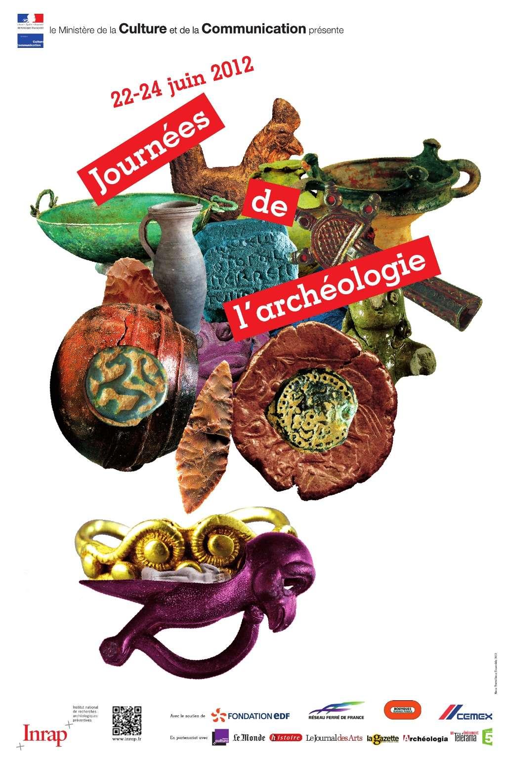 Les Journées nationales de l'archéologie offrent également au public l'occasion de rencontrer des chercheurs. Les manifestations se déroulent dans plus de 400 lieux en France. © Inrap