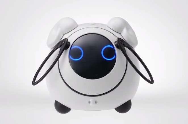 Bien qu'il se place en concurrent du robot humanoïde Pepper, Ohanas évoque plutôt un animal tout droit sorti d'un dessin animé manga dont les Japonais sont friands. © Takara Tomy, NTT Docomo, YouTube