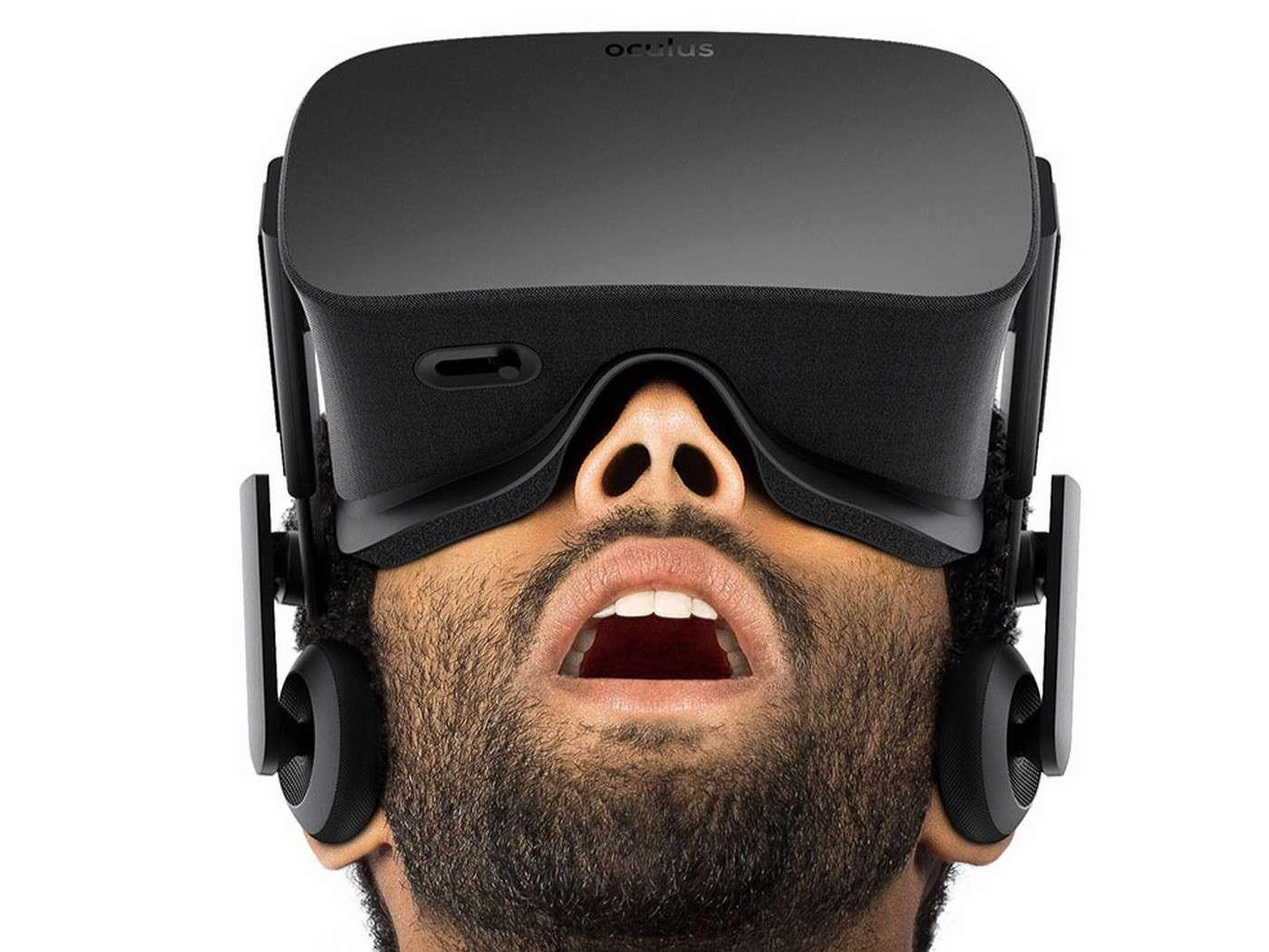 Mark Zuckerberg, le cofondateur et patron de Facebook, croit beaucoup au potentiel de la réalité virtuelle. Il espère notamment que cette technologie permettra à terme de transformer son réseau social en un monde virtuel dans lequel les membres pourront interagir comme s'ils étaient en présence les uns des autres. © Oculus VR