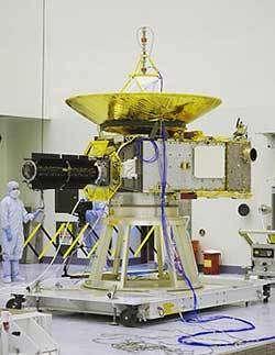 La sonde New Horizon livrée au Centre spatial Kennedy en vue de sa préparation au lancement