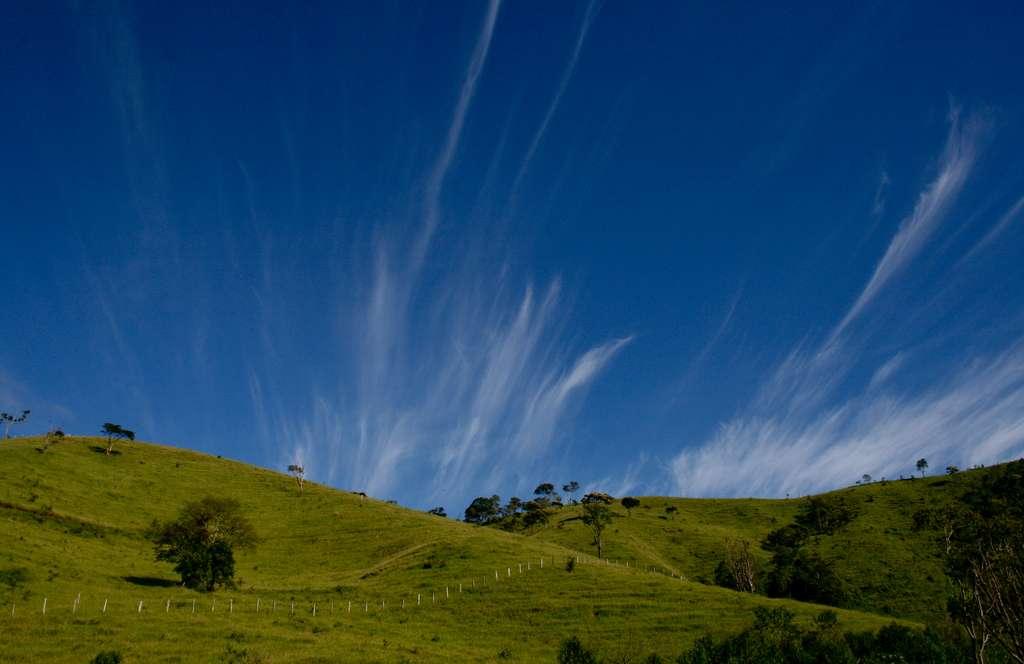 Les cirrus se forment entre 5.000 m et 14.000 m d'altitude, selon les saisons et la latitude. © marcusrg, Flickr, cc by nd 2.0