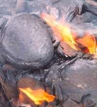 Les schistes bitumineux peuvent être employés comme combustible dès leur extraction. Cependant, le procédé n'est pas très rentable. © US Department of Energy (DOE), domaine public