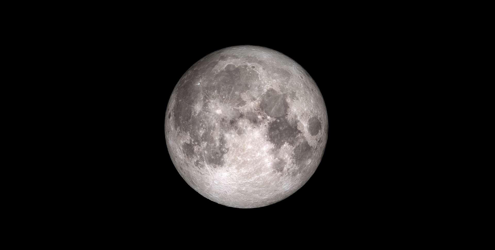 Pleine Lune. © Nasa
