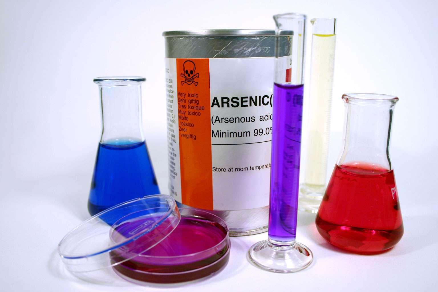 L'arsenic, pas seulement un poison - Crédit : Danielle Bonardelle - Fotolia