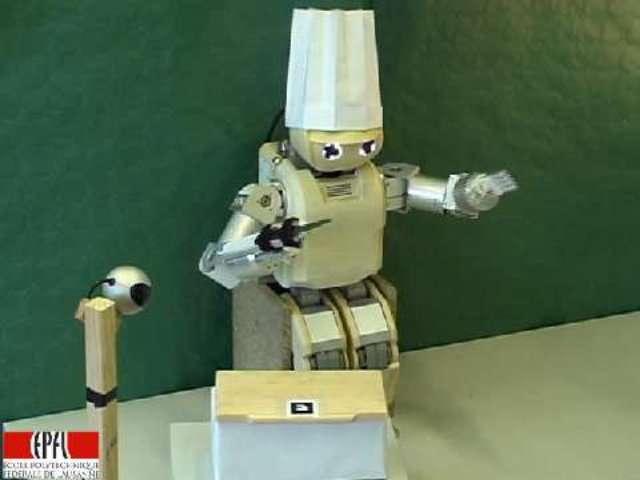 Hoap-3, le robot cuisinier