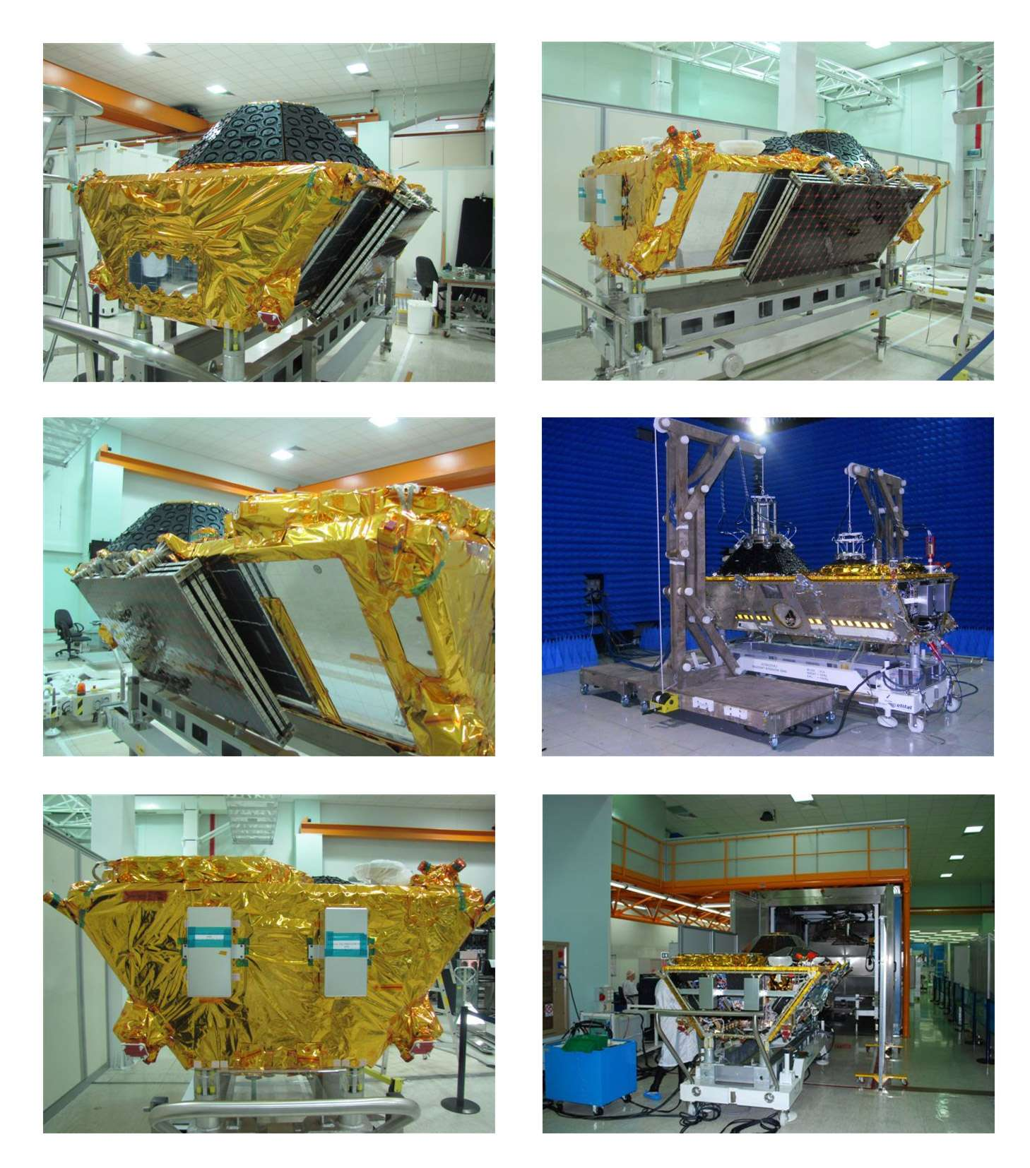 Les premiers satellites de la constellation de seconde génération Globalstar seront lancés cet automne. Cette nouvelle constellation assurera la continuité de la couverture de Globalstar jusqu'en 2025. Crédit Thales Alenia Space
