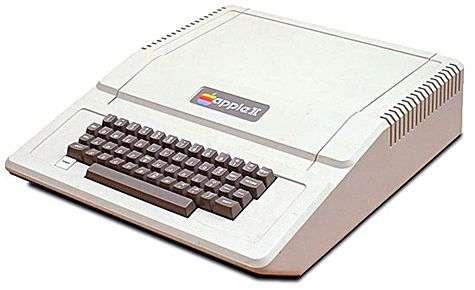 L'Apple II, l'antique héros de nos soirées (et de nos nuits !). Crédit Apple Computers.