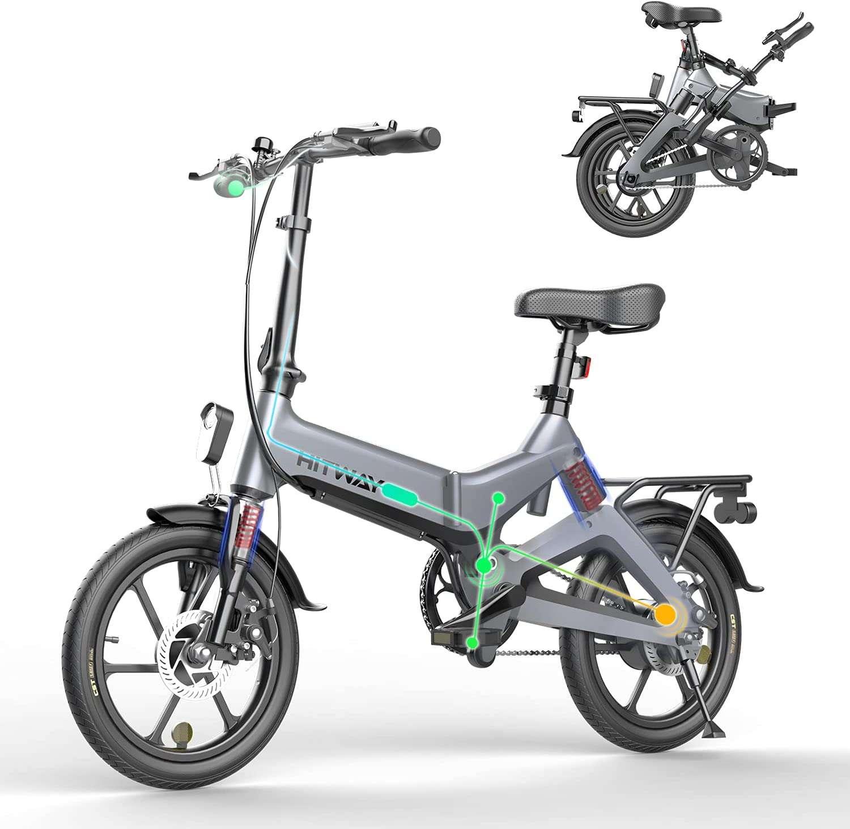 Bon plan : le vélo électrique pliable HITWAY © Amazon