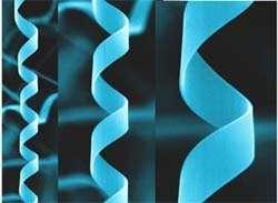 Nano-hélices d'oxyde de zinc