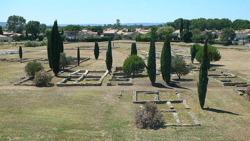 Le site archéologique de Lattara a été découvert en 1963, grâce à la présence de tessons de céramique dans un champ fraîchement labouré. Depuis le 28 février 2003, il est classé monument historique dans son intégralité. © Arnaud Fafournoux, Wikimedia Commons, cc by sa 3.0