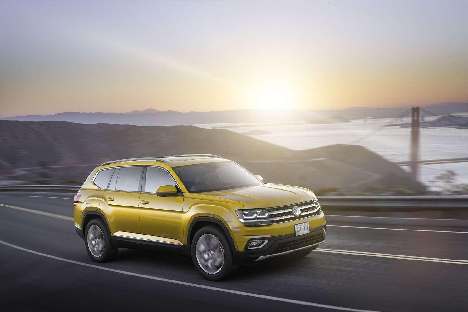 Le Volkswagen Atlas, le gros SUV sept places qui n'est commercialisé qu'aux Etats-Unis .© Volkswagen