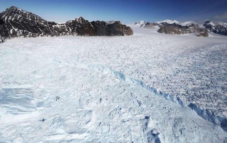 L'américain Colin O'Brady devient le premier à avoir traverser l'Antarctique de part en part, en solo et sans assistance. © Mario Tama - Getty Images North america/AFP/Archives