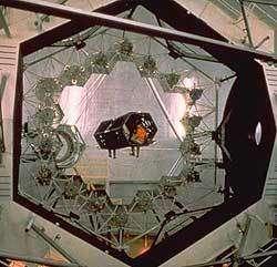 Les miroirs hexagonaux des télescopes Keck