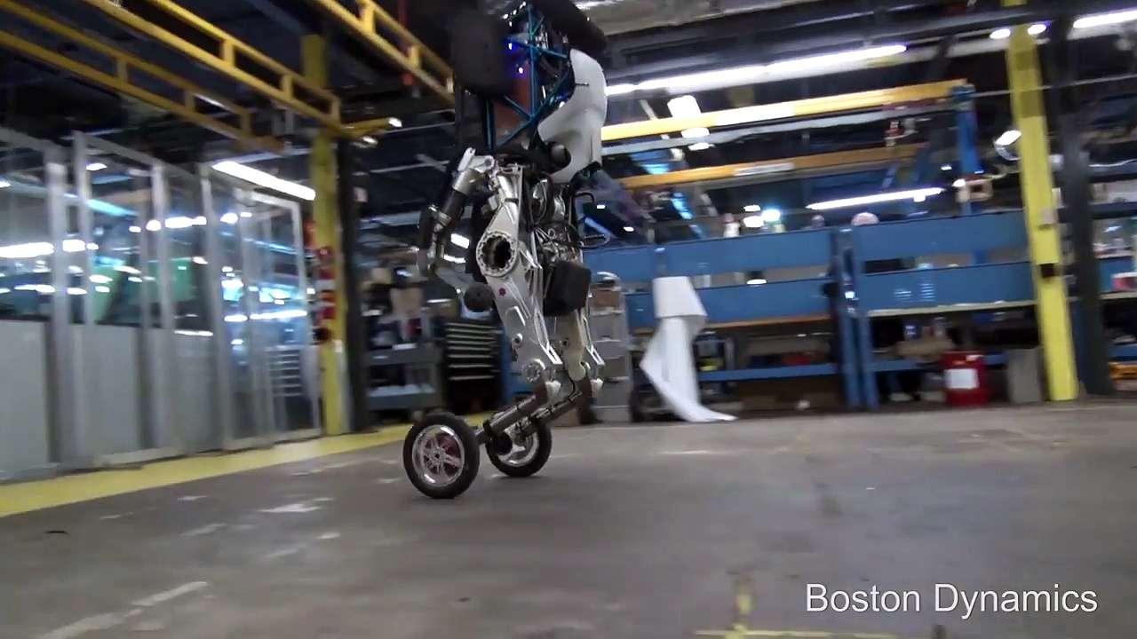 Handle : les étonnantes capacités du robot à deux roues de Boston Dynamics