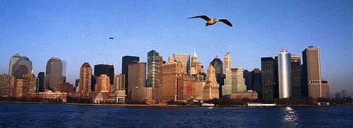 New York et sa région subissent les contrecoups de la poussée tectonique générée par la faille médio-atlantique. © Theo-la-photo/ Flickr - Licence Creative Common (by-nc-sa 2.0)