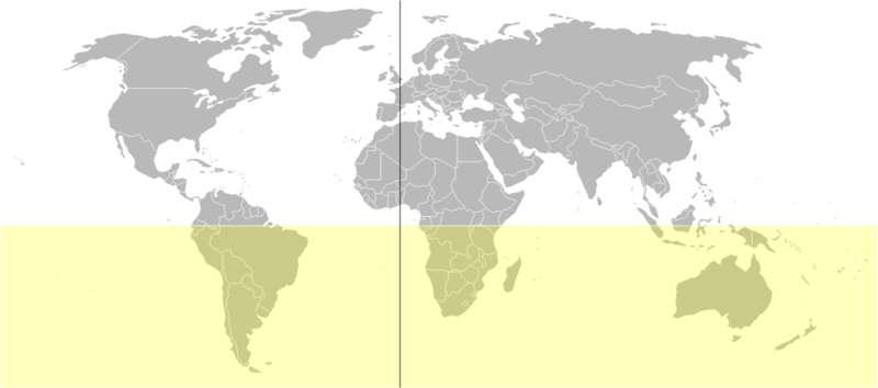 Le point culminant de l'hémisphère sud est l'Aconcagua. Ce sommet de 6.962 m se situe en Argentine. © Luis Miguel Bugallo Sánchez, Wikimedia common, DP