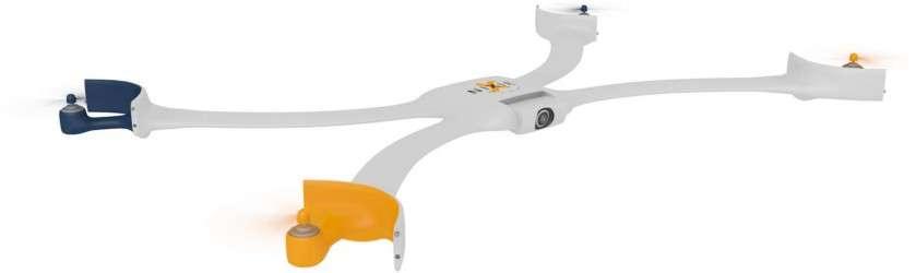 Intel a récompensé ce concept de drone-bracelet du premier prix de son concours Make It Wearable doté d'une prime de 500.000 dollars (environ 400.000 euros). Basé sur une mini-carte mère Edison, ce drone pourrait s'attacher au poignet et se libérer d'un simple geste pour aller prendre des photos de son propriétaire. Un gadget qui pourrait convenir aux sportifs désireux d'immortaliser leurs exploits. © Nixie
