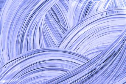 Peinture à l'éponge. © geronimo