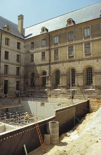 Le cuvelage protège les constructions souterraines de l'eau. © SIPLAST, CC BY-NC-ND 2.0, Flickr