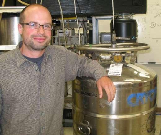 Max Hofheinz l'un des auteurs du travail publié dans Nature. Crédit : UC Santa Barbara