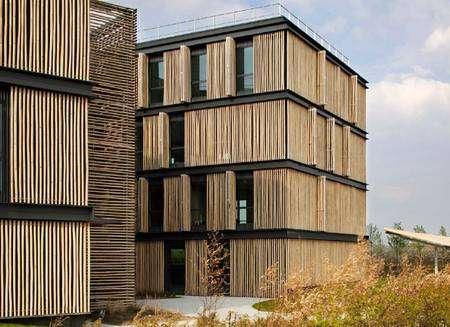 De nombreux matériaux permettent aujourd'hui une construction durable et avec un faible impact sur l'environnement. © DR
