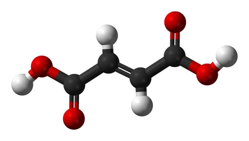 L'acide fumarique est utilisé dans l'industrie agroalimentaire. © Ben Mills, Wikimedia, domaine public