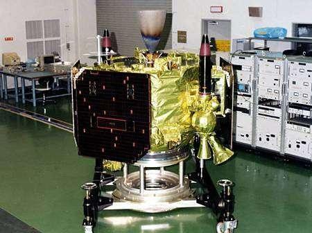 La sonde japonaise LUNAR-A en cours de tests.