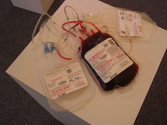 La transfusion de sang nécessite une comptabilité des groupes sanguins entre le donneur et le receveur. © Spike55151, Flickr, CC by-nc-sa 2.0