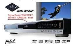 Prochaine génération de platines DVD/DivX