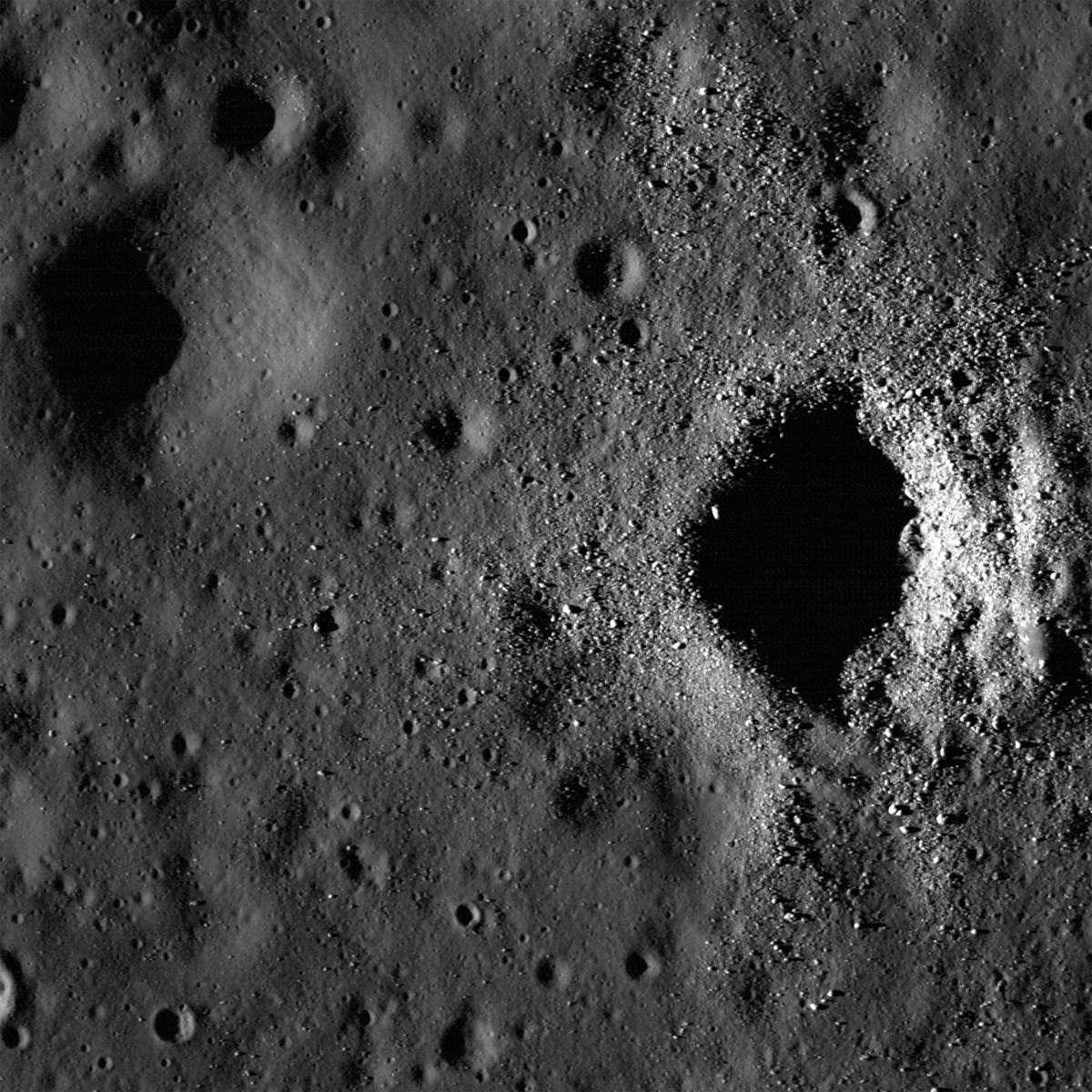 Après la Chine et l'Inde, une nouvelle puissance spatiale émergente, la Corée du Sud, fait de la Lune l'un de ses objectifs. © Nasa, GSFC, Arizona State University