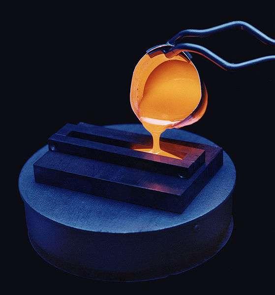 La vitrification nécessite un transfert de chaleur très rapide. © DR