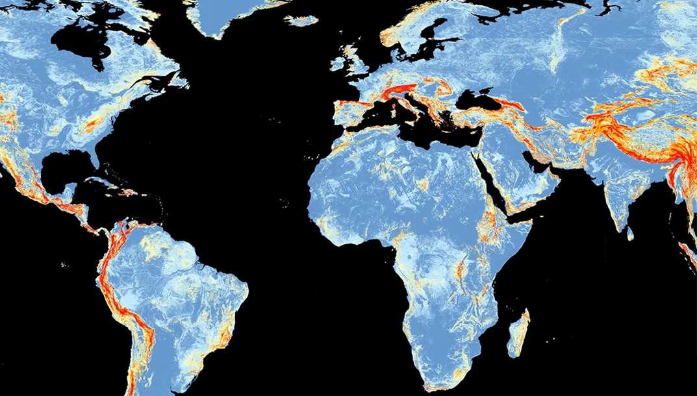 Glissements de terrain : un modèle de la Nasa permet d'estimer les risques