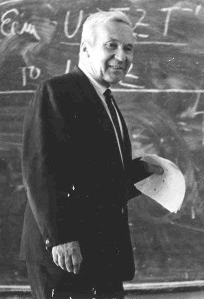 Le grand mathématicien Andrei Kolmogorov. Crédit : www.kolmogorov.pms.ru