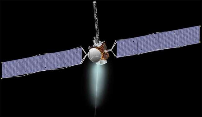 La sonde DAWN. Crédit NASA.
