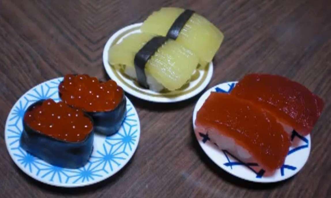 Voyez-vous de vrais ou de faux sushis ? Découvrez la réponse dans la vidéo que nous vous proposons. © RRCherryspie, YouTube