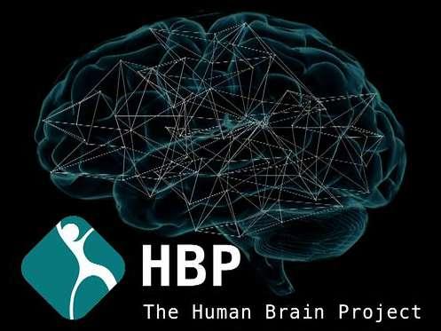 Un logo de présentation du Human Brain Project. Il est destiné à catalyser des avancées en neuroscience et en informatique. © Human Brain Project
