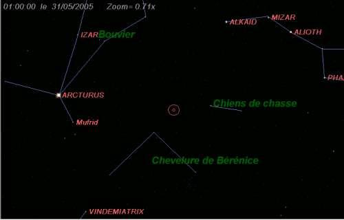 Observez la comète Machholz (C/2004 Q2)
