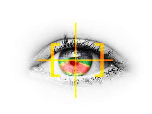 L'oculométrie, ou eye tracking en anglais, est une technique qui permet de détecter avec précision le mouvement des yeux. Cette technologie est employée au CHU de Tours pour aider des patients intubés à communiquer par l'intermédiaire d'un logiciel qu'ils contrôlent du regard. © Opelblog, CC by-nc-nd 2.0