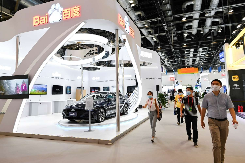 Le rapprochement entre Baidu et Geely sur le marché de la voiture électrique est un signal fort envoyé à l'industrie. © WANG Zhao / AFP