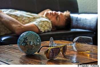 Le binge drinking touche de plus en plus les jeunes, étudiants et lycéens. © Traveler/Fotolia