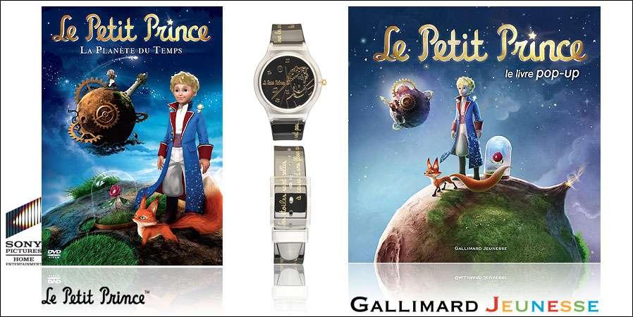 """Concours : """"Le Petit Prince"""", des livres montres et DVD à gagner. Crédits DR."""