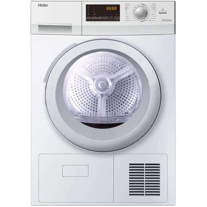 Bon plan : sèche linge à condensation HAIER HD90-B636 © Cdiscount
