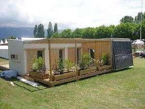 Ma maison pour Agir, une maison écolo et pédagogique pour apprendre à économiser l'énergie, l'eau, les produits chimiques pour le nettoyage et le jardinage, réduire ses déchets, etc. © DR
