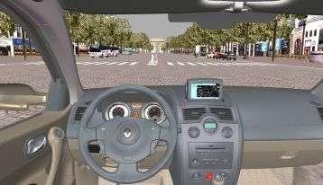 Etude de l'interface homme-machine du poste de conduite.© Renault