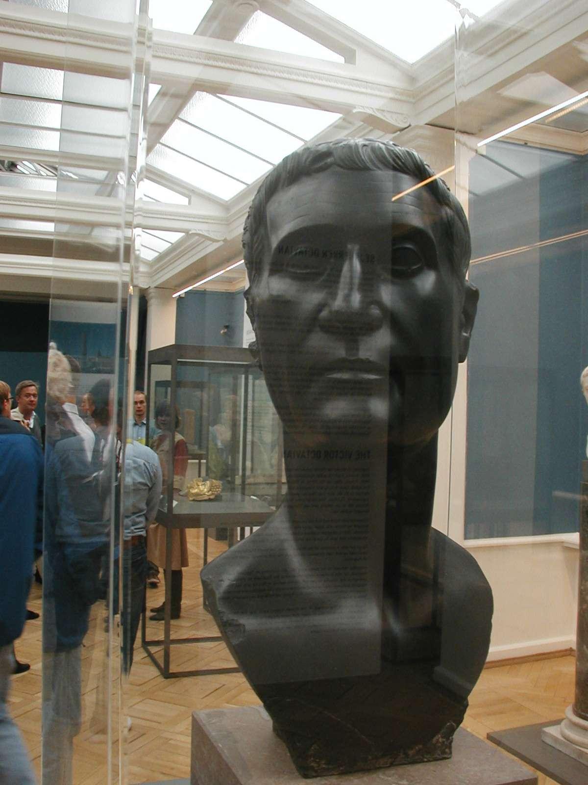 Buste de Marc Antoine, célèbre chef des armées de César. La plupart des généraux de César étaient issus de familles puissantes. © Diagram Lajard, Wikimedia Commons, DP