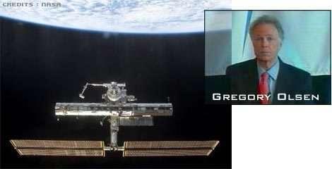 Le troisième touriste de l'espace devrait être l'américain Gregory Olsen