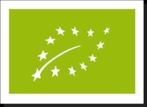L'Eurofeuille créée par Dusan Milenkovic, un étudiant allemand, est le nouveau logo européen pour les produits bio. © Dusan Milenkovic, domaine public